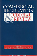 Cover of Commercial Regulation & Judicial Review
