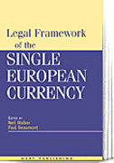 Cover of Legal Framework of the European Single Currency