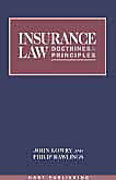 Cover of Insurance Law: Doctrines & Principles