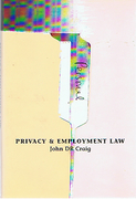 Cover of Privacy and Employment Law