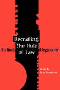 Cover of Recrafting the Rule of Law