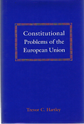 Cover of Constitutional Problems of the European Union