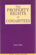 Cover of The Property Rights of Cohabitees