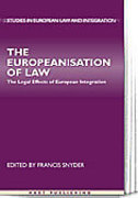 Cover of The Europeanisation of Law