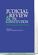 Cover of Judicial Review and the Constitution