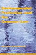 Cover of Environmental Protection and the Common Law