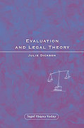 Cover of Evaluation and Legal Theory