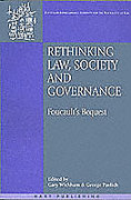 Cover of Rethinking Law Society and Governance