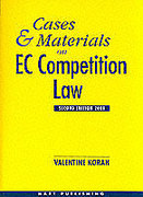 Cover of Cases and Materials on EC Competition Law