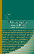 Cover of Developing Key Privacy Rights
