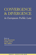 Cover of Convergence and Divergence in European Public Law