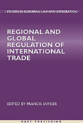 Cover of Regional and Global Regulation of International Trade