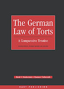 Cover of The German Law of Torts: A Comparative Treatise