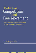 Cover of Between Competition and Free Movement