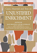 Cover of Cases, Materials and Texts on Unjustified Enrichment