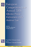 Cover of European Competition Law Annual 2001: <i>Effective Private Enforcement of EC Antitrust Law</i>