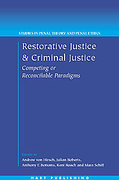 Cover of Restorative Justice and Criminal Justice