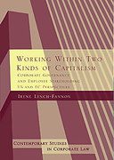 Cover of Working Within Two Kinds of Capitalism: Corporate Governance and Employee Stakeholding - US and EC Perspectives