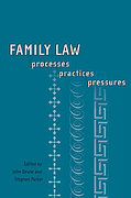 Cover of Family Law: Processes, Practices, Pressures