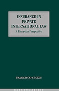 Cover of Insurance in Private International Law: A European Perspective