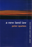 Cover of A New Land Law