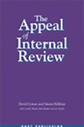 Cover of The Appeal of Internal Review: Law, Administrative Justice and the (non-) Emergence of Disputes