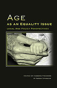 Cover of Age as an Equality Issue: Legal and Policy Perspectives