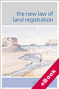 Cover of The New Law of Land Registration (eBook)