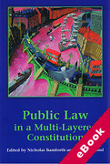 Cover of Public Law in a Multi-Layered Constitution (eBook)
