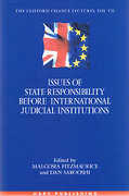 Cover of Issues of State Responsibility Before International Judicial Institutions