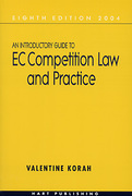 Cover of An Introductory Guide to EC Competition Law and Practice