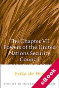 Cover of The Chapter VII Powers of the United Nations Security Council (eBook)