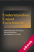 Cover of Understanding Unjust Enrichment (eBook)