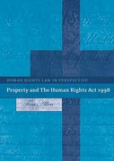 Cover of Property and the Human Rights Act 1998