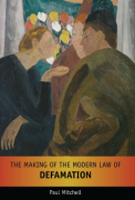 Cover of The Making of the Modern Law of Defamation