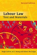 Cover of Labour Law: Text and Materials