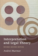 Cover of Interpretation and Legal Theory 2nd ed