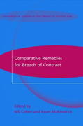 Cover of Comparative Remedies for Breach of Contract