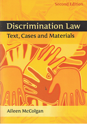 Cover of Discrimination Law: Text, Cases and Materials