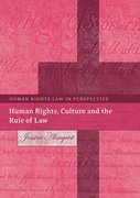 Cover of Human, Rights, Culture and the Rule of Law