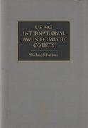 Cover of Using International Law in Domestic Courts