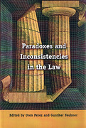 Cover of Paradoxes and Inconsistencies in the Law