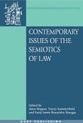 Cover of Contemporary Issues of the Semiotics of Law