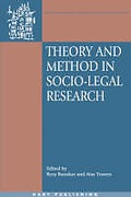 Cover of Theory and Method on Socio-Legal Research