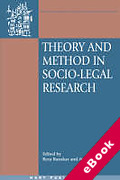 Cover of Theory and Method on Socio-Legal Research (eBook)