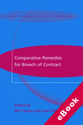 Cover of Comparative Remedies for Breach of Contract (eBook)