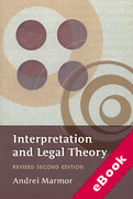 Cover of Interpretation and Legal Theory 2nd ed (eBook)
