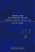 Cover of Costs and Cautionary Tales: Economic Insights for the Law