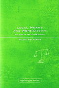 Cover of Legal Norms & Normativity: An Essay in Geneology