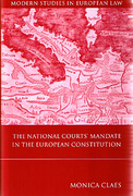 Cover of The National Courts' Mandate in the European Constitution